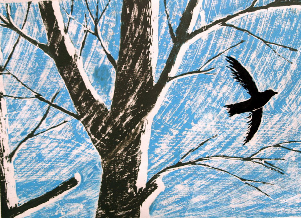 bird and tree by Tadhg McSweeney