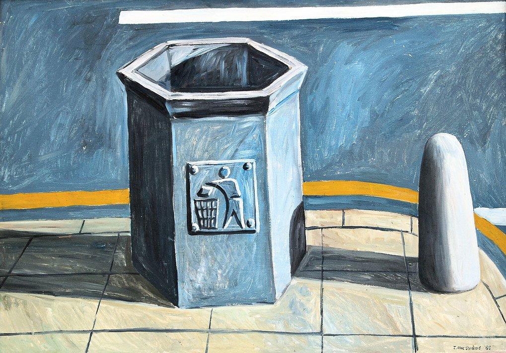 Camden bin by Tadhg McSweeney