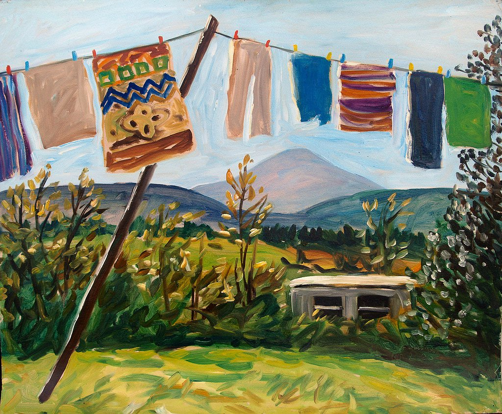 Clothesline 6 by Tadhg McSweeney