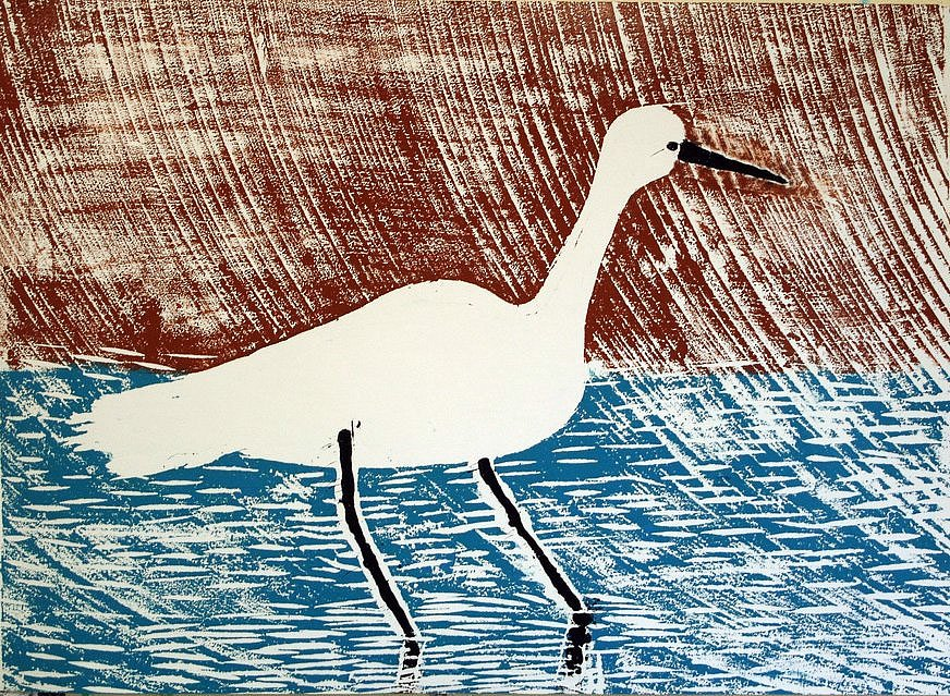 Egret by Tadhg McSweeney