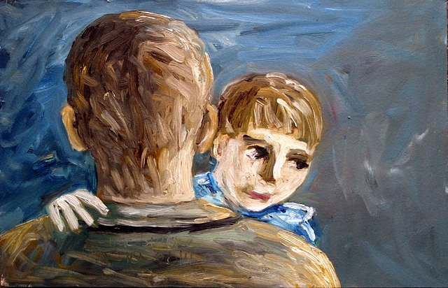 Father and son by Tadhg McSweeney