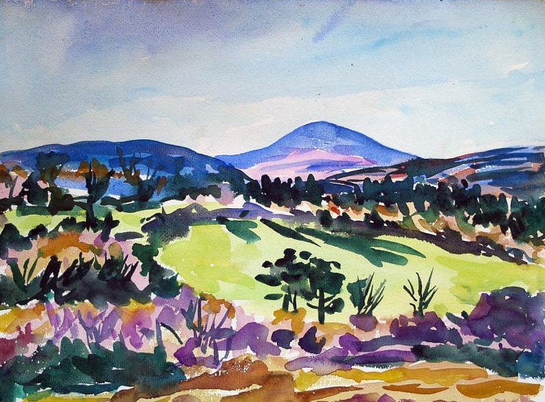 Landscape with Sheha by Tadhg McSweeney