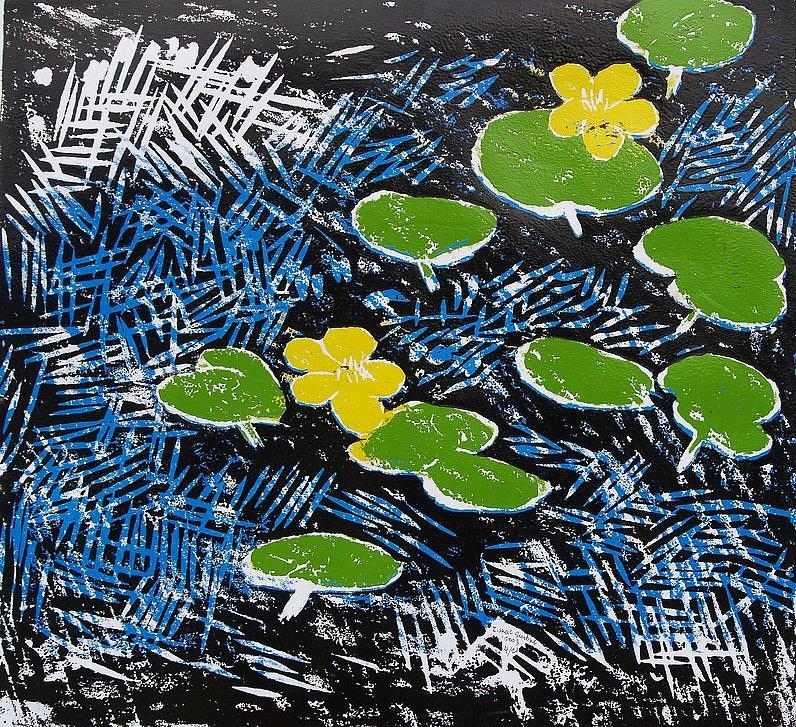 2 marshmarigolds by Tadhg McSweeney