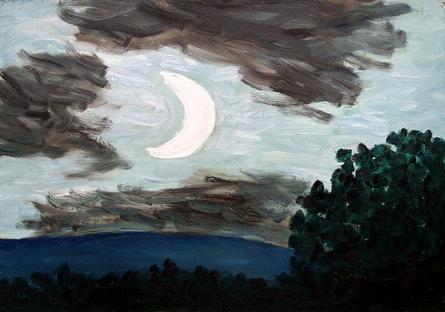 October moon by Tadgh McSweeney