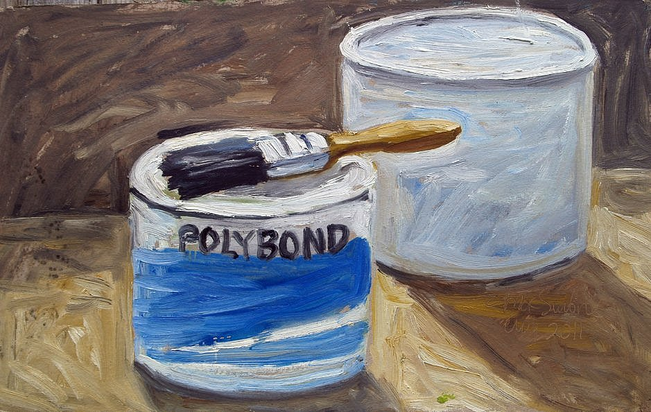 Paint Tins by Tadgh McSweeney