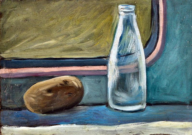 Still life with milk bottle by Tadgh McSweeney