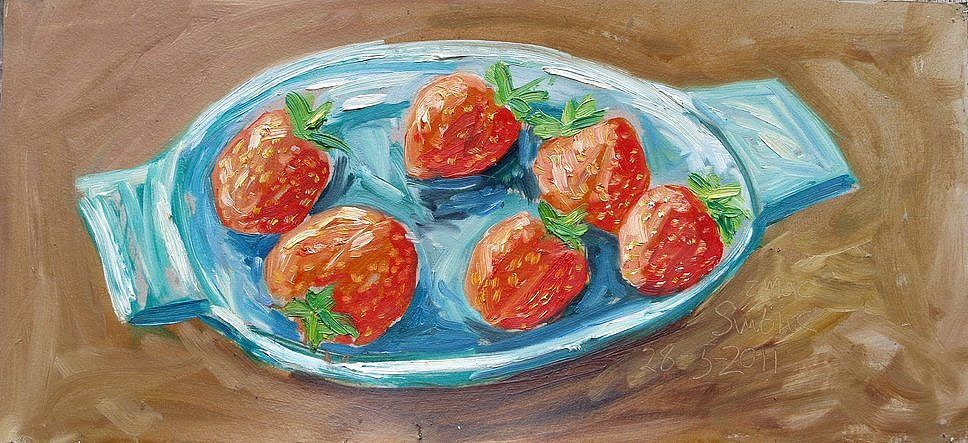 Strawberries by Tadgh McSweeney