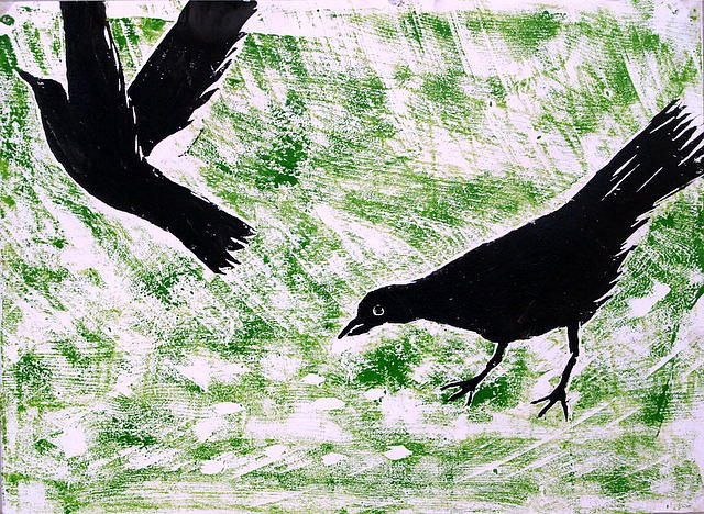 The crows in the morning, Na préacáinar maidin by Tadhg McSweeney