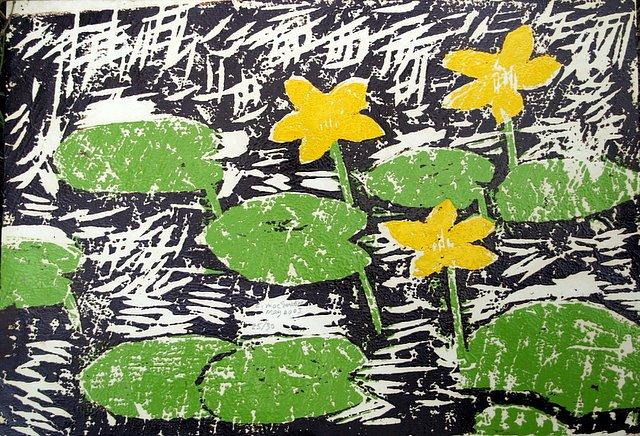 3 marshmarigolds by Tadhg McSweeney