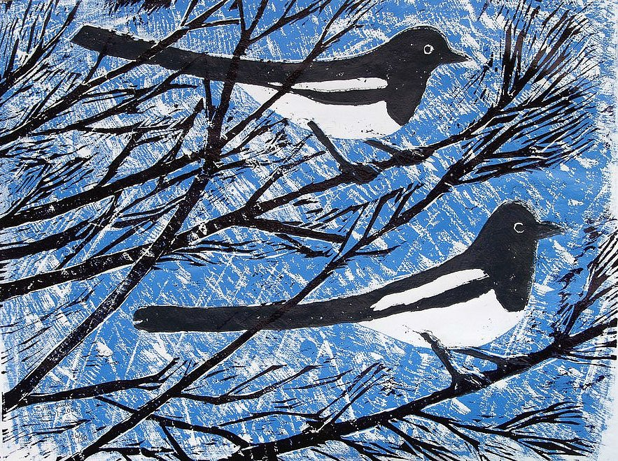 Two Magpies 2 by Tadhg McSweeney