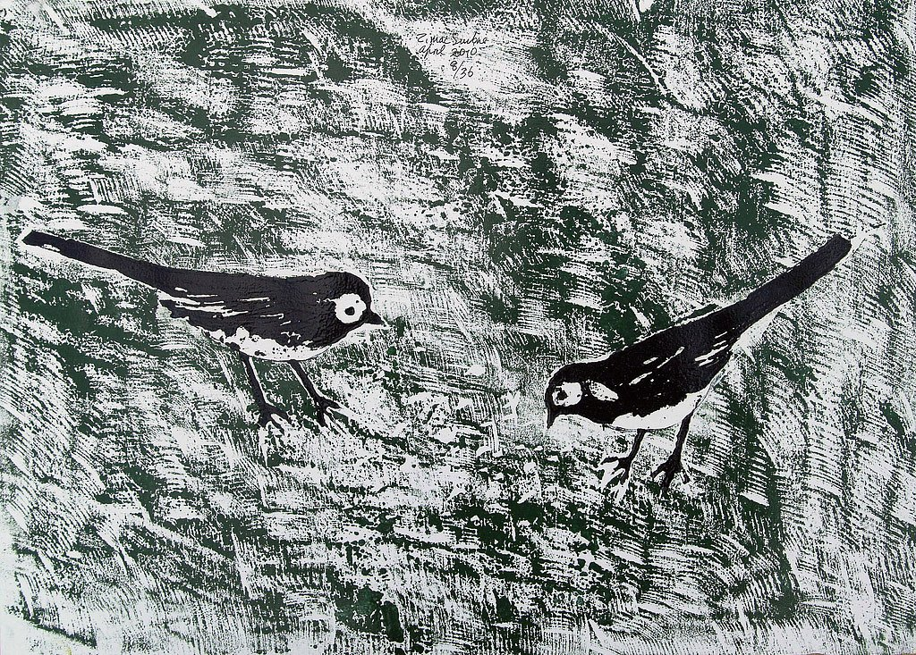 Two Wagtails by Tadhg McSweeney